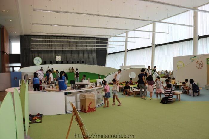 日本科学未来館(Miraikan)子供の遊び場