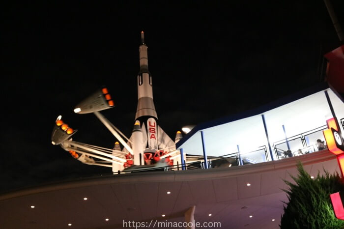 ディズニーランドのスタージェット