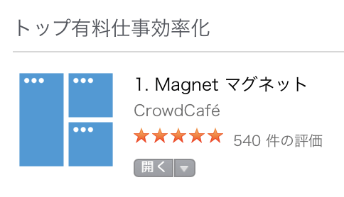 Macの有料アプリ「Magnet(マグネット)