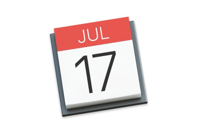 Mac標準アプリ「カレンダー」