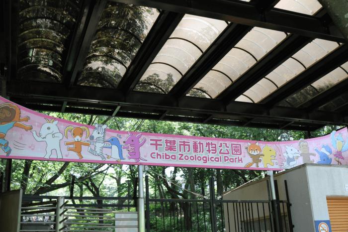 千葉市動物公園の入園ゲート