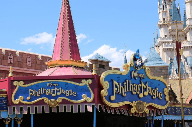 ディズニーランド:ミッキーのフィルハーマジック(定員454名)