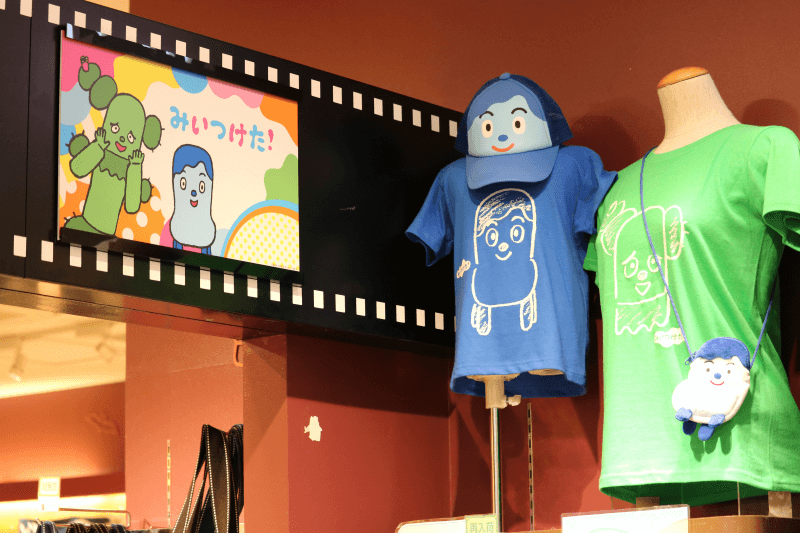 東京ソラマチにあるNHKキャラクターショップ