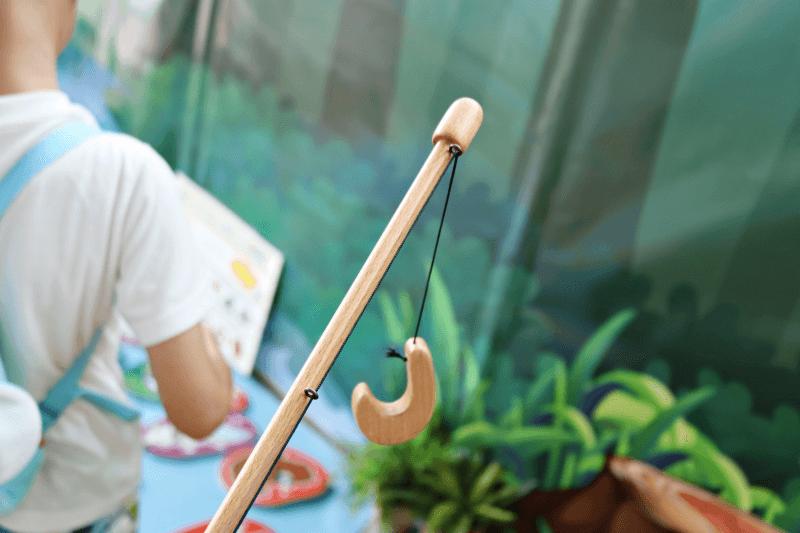 キモカワハンティングで使う「魔法の釣りざお」先端部