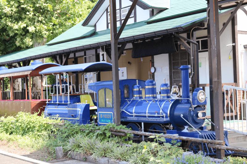 むさしの村のアトラクション「むさしの村鉄道」