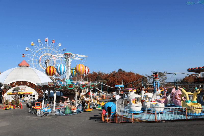 群馬サファリパークの遊園地