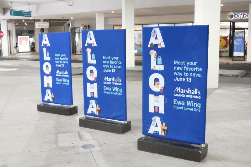ハワイ旅行 ESTA申請を家族4人分 アラモアナショッピングセンター