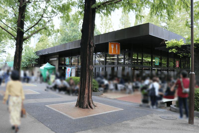 上野動物園 西園食堂