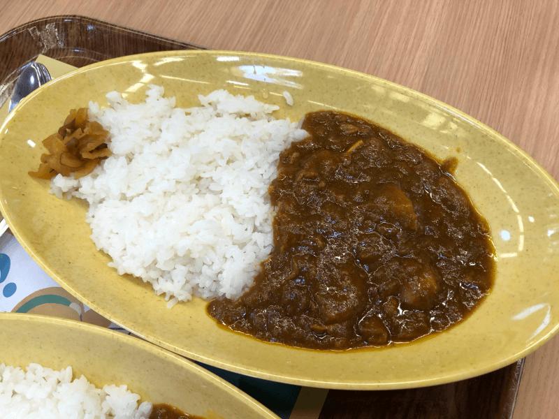 上野動物園 西園食堂のビーフカレー