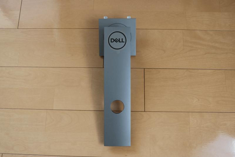 Dell デジタルハイエンドシリーズ U2720Q 27インチ4K HDR USB-C モニタ-:スタンドライザー 後側