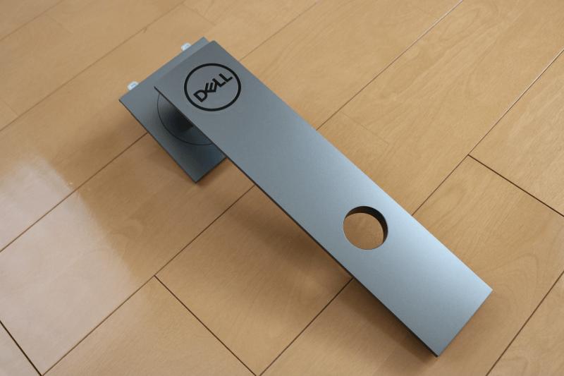 Dell デジタルハイエンドシリーズ U2720Q 27インチ4K HDR USB-C モニタ-:スタンドライザー 斜め