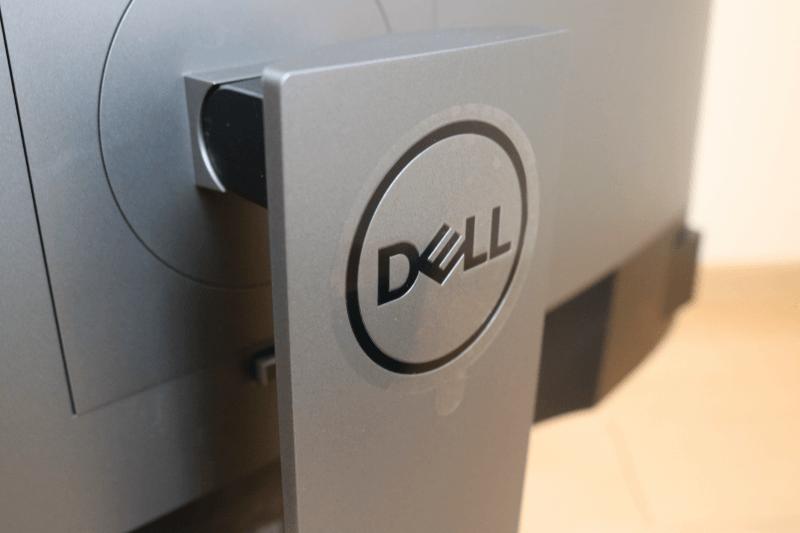 Dell デジタルハイエンドシリーズ U2720Q 27インチ4K HDR USB-C モニタ-:外観 DELLのロゴ
