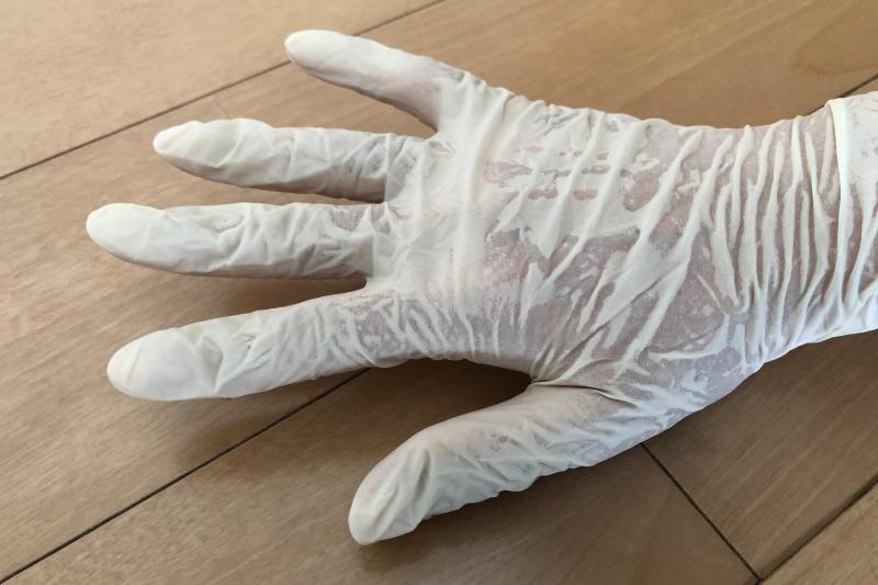 オカモトグローブぴったりゴム手袋