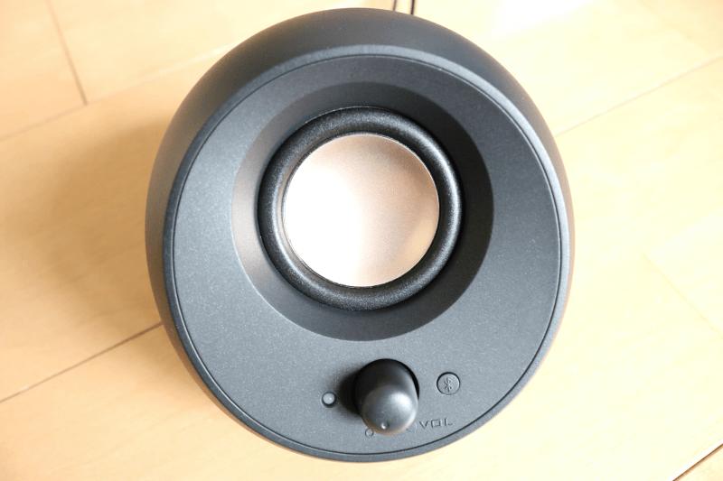 Creative Pebble V3(クリエイティブ ペブル ブイ3)PCスピーカー:外観
