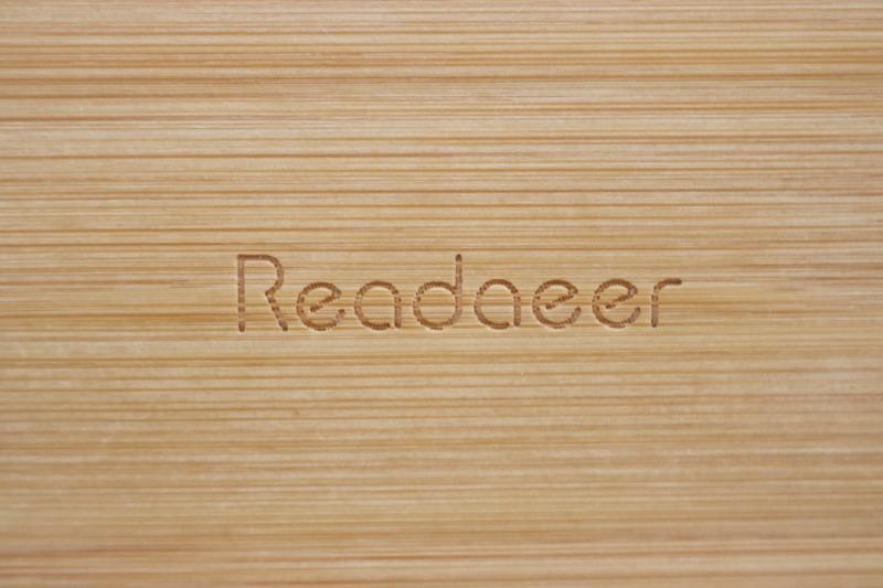 Reodoeerブックスタンドのロゴ