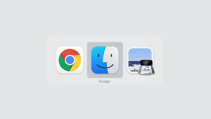 アプリの選択方法は3通り